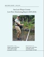 2015-2018-CCSE-Low-Flow-Monitoring-Report